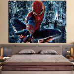 Spider-Man Super Strength 1pcs Wall Art Canvas Print