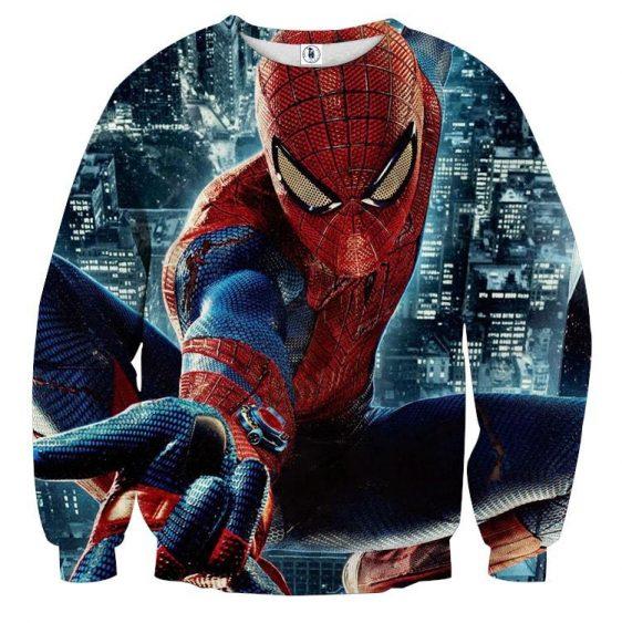 Spider-Man Super Strength 3D Design Full Print Sweatshirt