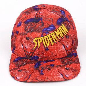 Spiderman All in Red Streetwear Snapback Baseball Cap - Superheroes Gears
