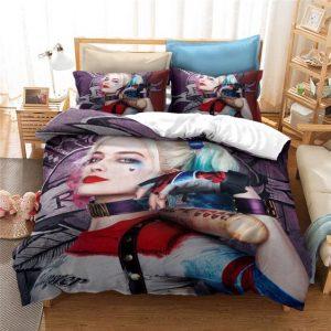 Suicide Squad Harley Quinn Infamous Costume & Bat Bedding Set