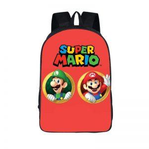 Super Mario Best Brothers Mario Luigi Backpack Bag