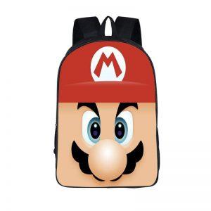 Super Mario Cute Mario Close Up Backpack Bag