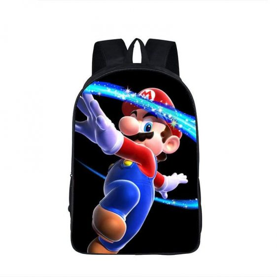 Super Mario Galaxy Cool Spin Attack Backpack Bag