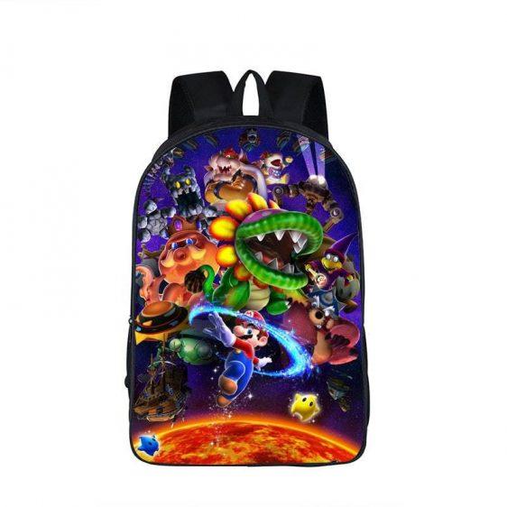 Super Mario Galaxy Nintendo Legend Villains Backpack Bag