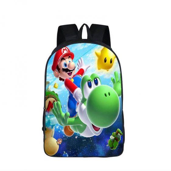 Super Mario Galaxy Yoshi Underwater Swim Backpack Bag
