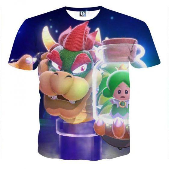 Super Mario King Koopa Bowser Evil Villain Style T-Shirt