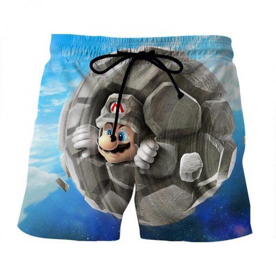 Super Mario Rock Mushroom Upgrade Cool Gaming Trunks Shorts