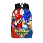 Super Mario Sonic Hedgedog Rio Olympics Backpack Bag