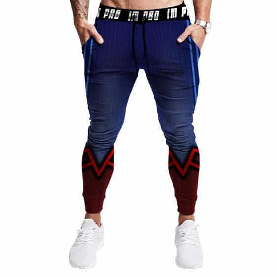 Superman 3D Unique Design Men Fitness Training Jogger Sweatpants