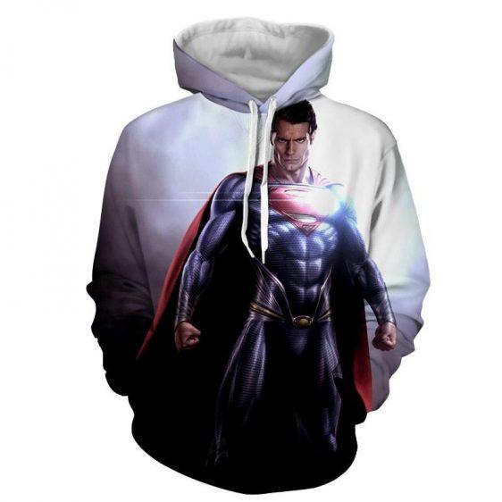 Superman Stunning Metaphor Design Full Print Hoodie