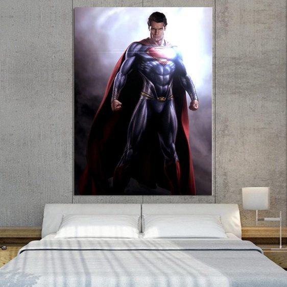 Superman Stunning Portrait Design 1pcs Canvas Print