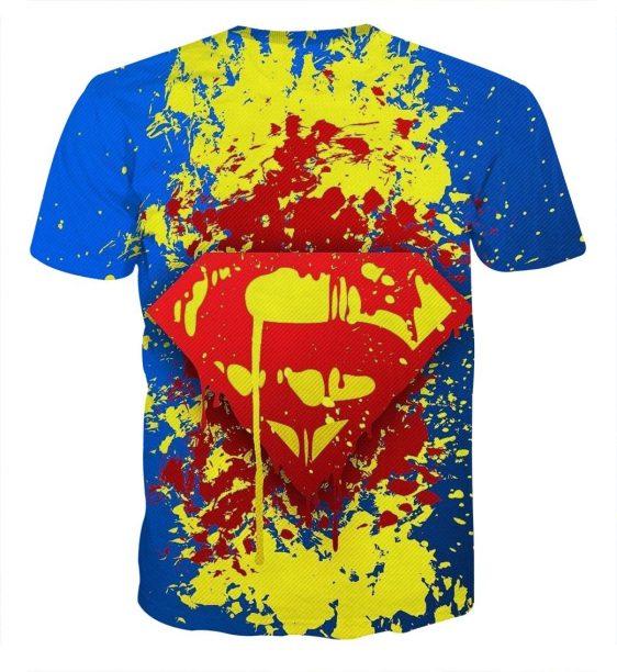 Superman Super Cool Signature Design Full Print T-Shirt