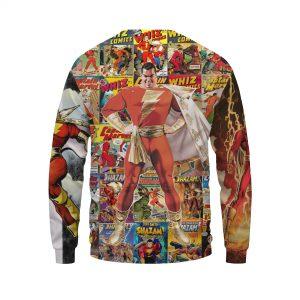 Great Mike's Shazam Unparalleled Energizing Design Sweatshirt