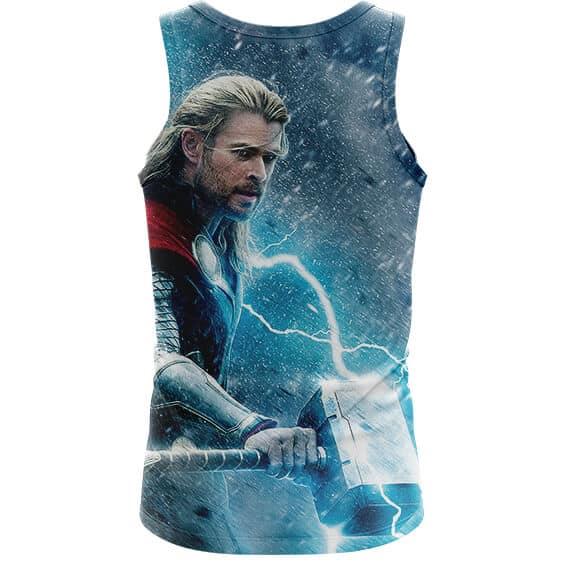 Avenger Thor Norse God of Thunder and Lightning Tank Top