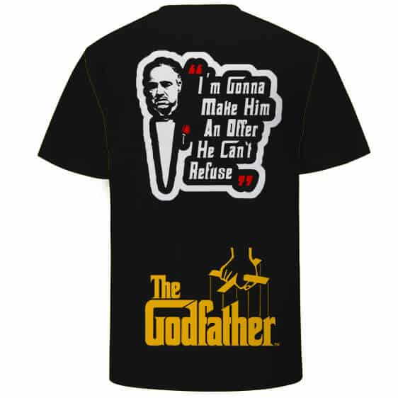The Godfather An Offer You Can't Refuse Black T-Shirt