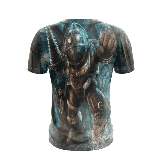 BioShock Powerful Big Daddy Little Sister Awesome T-Shirt