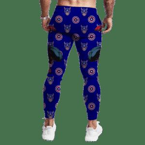 The First Avenger Steve Rogers Captain America Jogger Pants