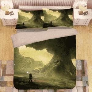 The Legend of Zelda Ocarina of Time Nature Green Bedding Set