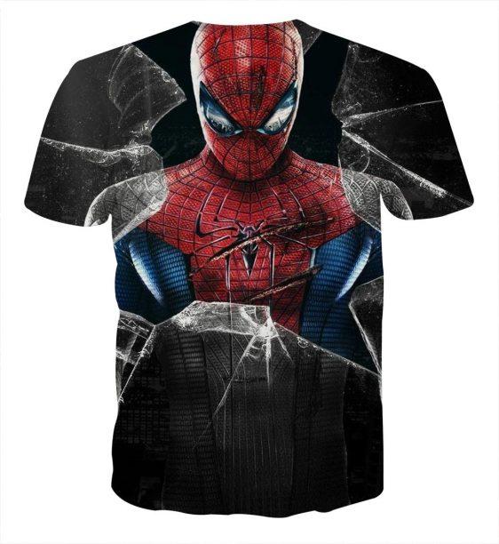 The Amazing Spider-Man Dope Design Full Print T-Shirt