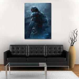 The Avengers Age Of Ultron Villain 1pc Wall Art Canvas Print
