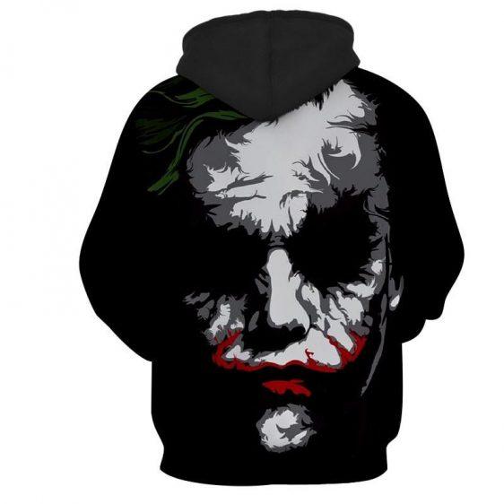The Bad Ass Psychopath Joker Design Full Print Hoodie