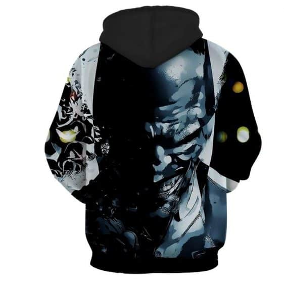 The Clown At Midnight Joker Design Full Print Hoodie