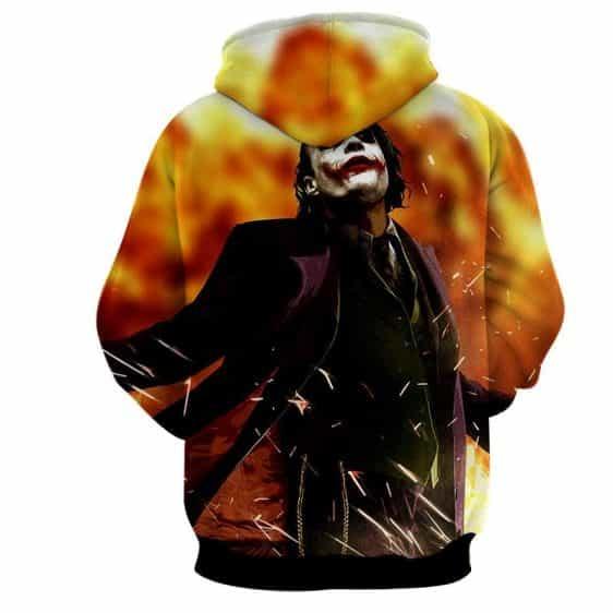 The Cold-Blooded Supervillain Joker Design Full Print Hoodie