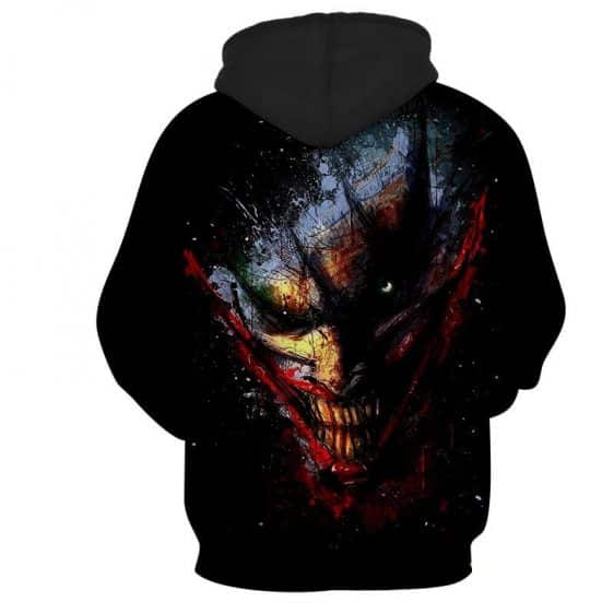 The Devilish Look Of Joker Design Full Print Hoodie