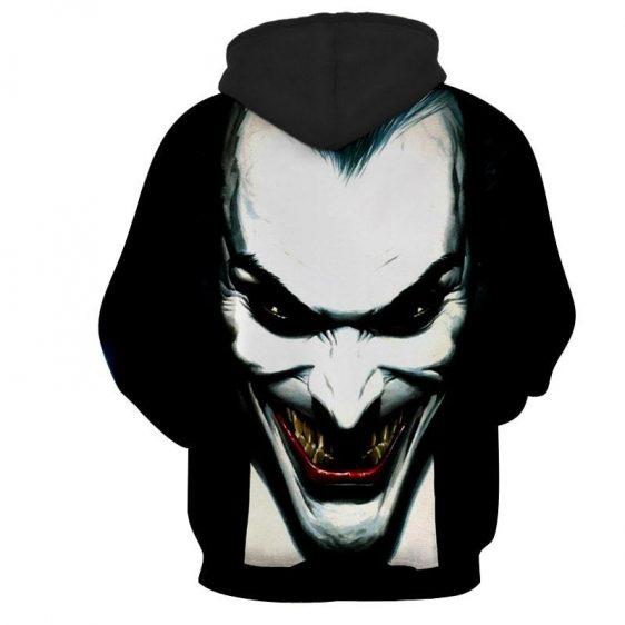 The Fatal Smile Of Joker Unique Design Full Print Hoodie