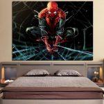 The Fierce Spider-Man 3D Design 1pcs Wall Art Canvas Print