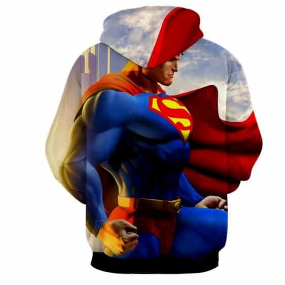 The Great Superman In the Universe Design Full Print Hoodie