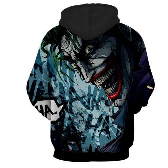 The Homicidal Psychopath Joker Design Full Print Hoodie