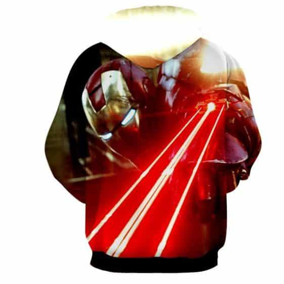 The Iron Man's Power Arc Reactor Full Print Hoodie