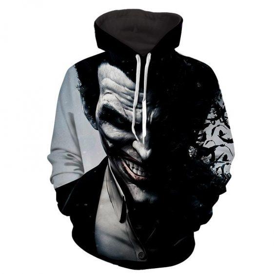 The Irrational Joker Face Design Full Print Hoodie