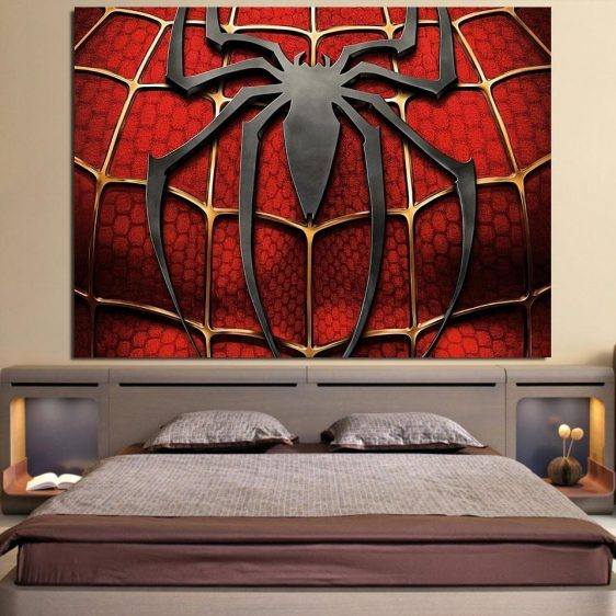 The Itsy Bitsy Spider Design 1pcs Wall Art Canvas Print