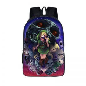 The Legend Of Zelda Majora's Mask Epic Fantasy Backpack Bag