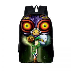 The Legend Of Zelda Majora's Mask Link Transformations Backpack Bag