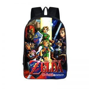 The Legend Of Zelda Ocarina Of Time Backpack Bag