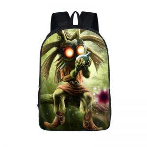 The Legend Of Zelda Surreal Majora's Mask Backpack Bag