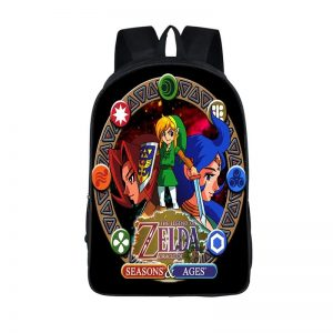 The Legend of Zelda Oracle of Seasons and Ages Backpack Bag