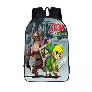 The Legend of Zelda Spirit Tracks Cool School Backpack Bag
