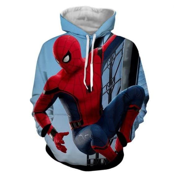 The Look At Spider-Man View Design Full Print Design Hoodie