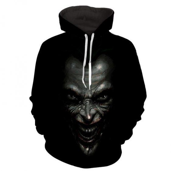 The Mad Badass Joker Black Design Full Print Hoodie
