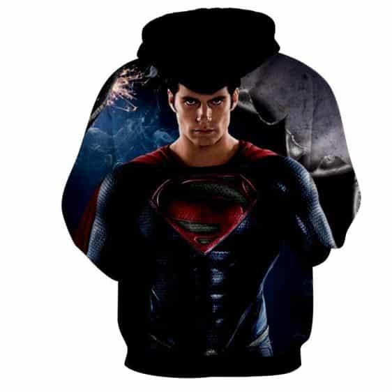 The Marvelous Superman Portrait Design Full Print Hoodie