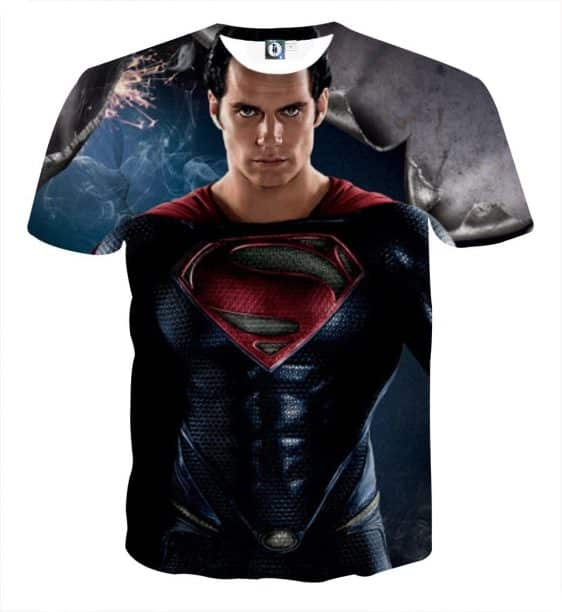 The Marvelous Superman Portrait Design Full Print T-Shirt