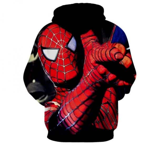 The Spider-Man Ability Style Full Print Design Hoodie
