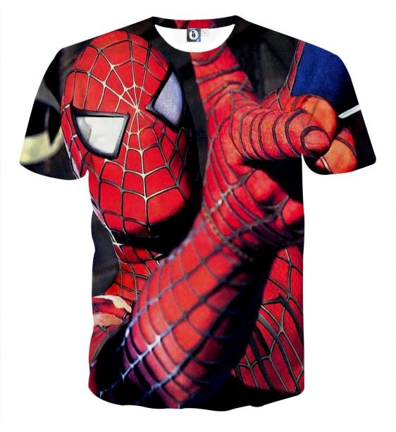 The Spider-Man Ability Style Short Sleeves T-Shirt