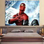 The Spider-Man Power Net Sign 1pcs Wall Art Canvas Print