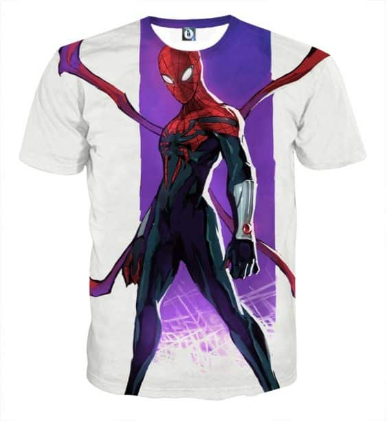 The Spider-Man Weapon Cool Design Full Print T-Shirt