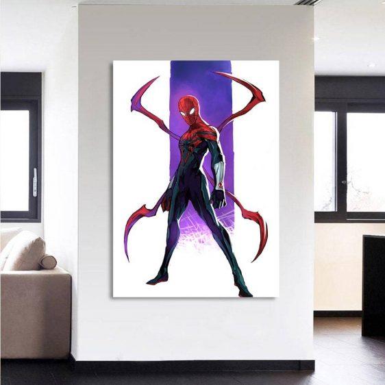 The Spider-Man Weapon Portrait Design 1pcs Canvas Print